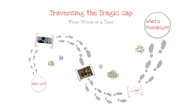 Copy of Traversing the Tragic Gap... Three Words at a Time