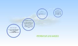 TEORIA DE LOS GASES