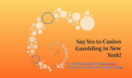 Say Yes to Casino Gambling in New York!