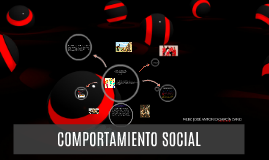 Copy of COMPORTAMIENTO SOCIAL
