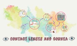contact lenses and cornea