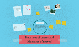 Measures of spread and measures of center