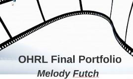 OHRL Final Portfolio