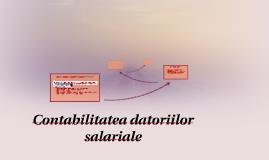 Contabilitatea datoriilor salariale