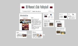 OU Women's Volleyball Final Presentation