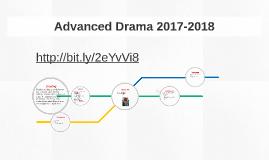 Advanced Drama 2015-2016