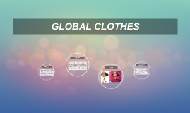 GLOBAL CLOTHES