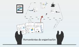 Herramientas de organización
