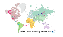 Julia´s Comm. & Mkting Journey