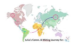 Julia´s Comm. & Mkting Journey