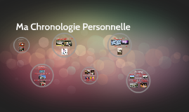 Copy of Ma Chronologie Personnelle