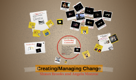 Creating/Managing Change