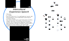 Intercultural Experience Speech