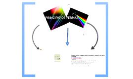 Copy of PRINCIPIO DE FERMAT