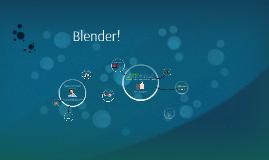 Blender!