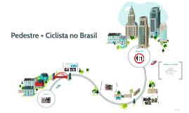 Pedestre + Ciclista no Brasil