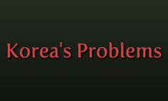 Korea's Problems