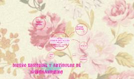 Copy of Diseño Editorial y Artículos de Merchandising