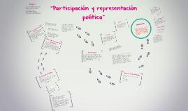"""""""Participación y representación política"""""""
