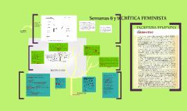 Copy of Semanas 8 y 9  Crítica feminista