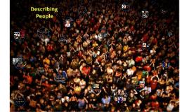Descriptions of People