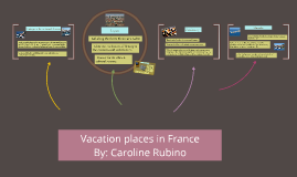 Vacation places in France