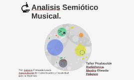 Análisis Semiótico Musical.