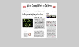 Video Games Effect on Children