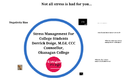 Stress Management For International Students