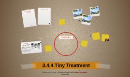 3.4.4 Tiny Treatment
