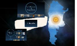 Copy of Telón Día de la Independencia de Argentina