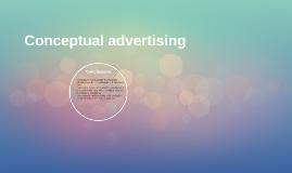 Conceptual advertising