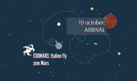 EXOMARS: Italien fly zum Mars