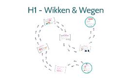 H1 Wikken & Wegen