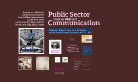 Public Sector Communication, Bilbao July 8th ACOP