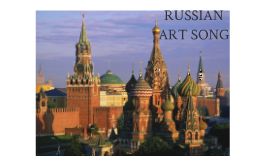 Russian Art Song