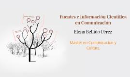 Fuentes de la Información Bibliográfica en Comunicación