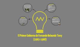 Primer Gobierno de Fernando Belaunde Terry (1963-1968)