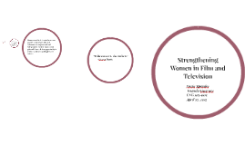 Strengthening Women in Film and Television