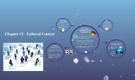 Chapter 13 - Cultural Context