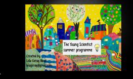 Young Scientist summer camp Lola Garay