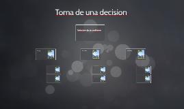 Toma de una decision