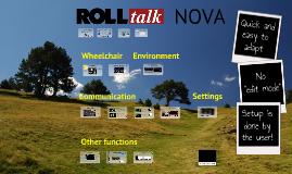 Rolltalk Nova by Abilia