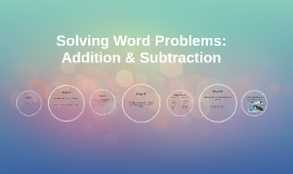 Solving Word Problems: