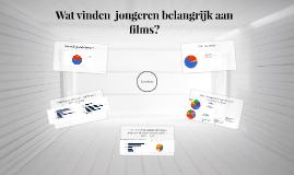 Wat vinden  jongeren belangrijk aan films?