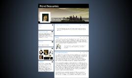 Se considera a Descartes como el padre de la filosofía moder