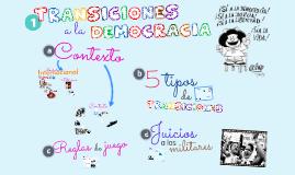 5. Transiciones a la democracia