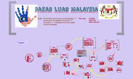 Copy of Dasar Luar Malaysia
