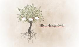 Historia stalówki