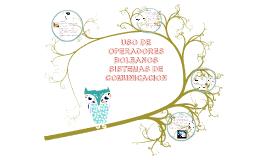 Copy of uso de operadores boleanos